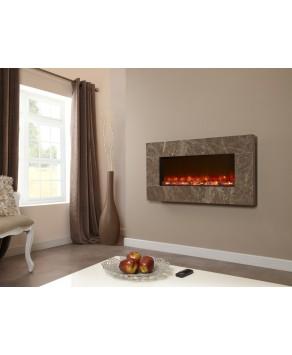 Designer Fire Electric - Celsi Prestige Brown 1100