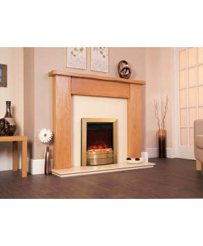 Designer Fire Electric - Celsi Electriflame XD Essence Antique Brass 16''
