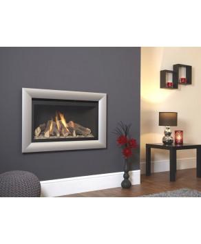 Designer Fire - Flavel FBFL01RN3 Silver Rocco Balanced Flue Gas Fire - RC