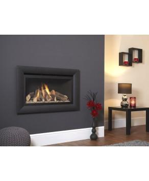 Designer Fire - Flavel FBFL02RN3 Black Rocco Balanced Flue Gas Fire - RC