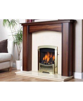 Designer Fire - Flavel FDCN45SP Brass Rhapsody Gas (LPG) - SC