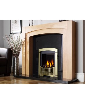 Designer Fire - Flavel FDRN45G Brass Melody Gas Fire - SC