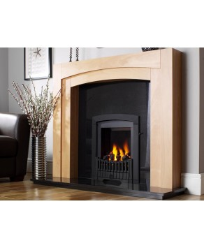 Designer Fire - Flavel FDRN57G Black Melody Gas Fire - SC