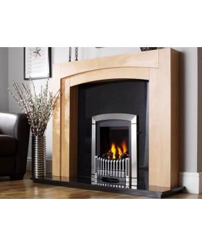 Designer Fire - Flavel FDRN68G Silver Melody Gas Fire - SC