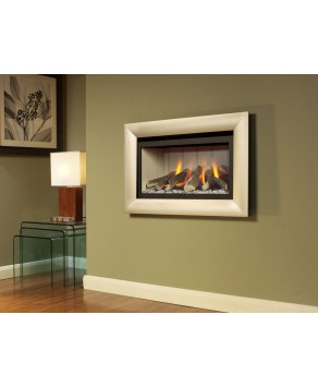 Designer Fire - Flavel FHCL03RN Champagne Jazz He Gas Fire - RC