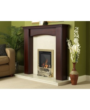 Designer Fire - Flavel FHKC14RN3 Brass Traditional Kenilworth HE Gas Fire - RC