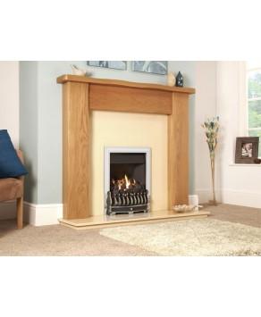 Designer Fire - Flavel FICC37MN Silver Richmond Gas Fire – MC