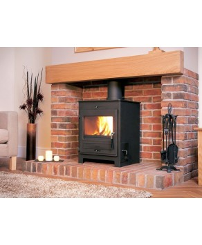 Designer Fire - Flavel Central Heating SQ15 Multifuel Stove