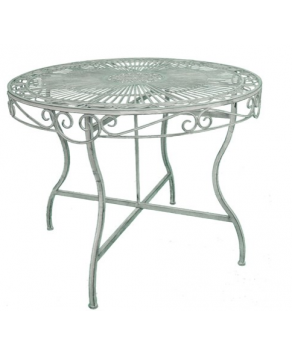 Garden Furniture - Heritage Table (100cm) - Antique Grey