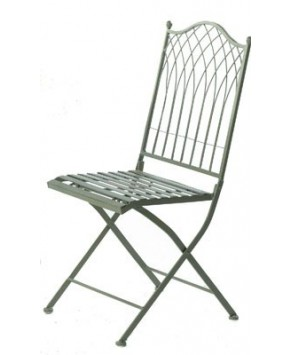 Garden Furniture - Hampton Fold Chair Cream