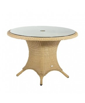 Garden Furniture - Victoria Round Table with Glass