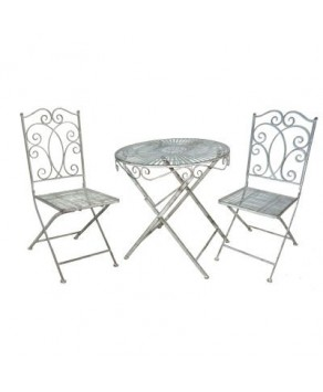 Garden Furniture - Heritage Grey Bistro Set