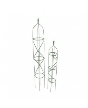 Garden Accessories - Green Obelisk Set x 2