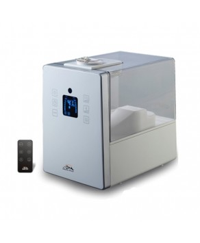 Humidifier - Heaven Fresh HF 710 Digital Ultrasonic Cool and Warm Mist Humidifier with Aroma Function, White