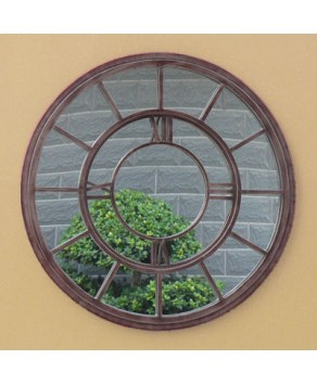 Garden Accessory - Clock Mirror (80 cm)
