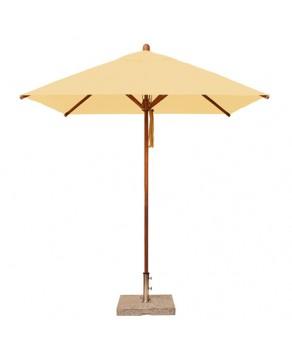 Levante Parasol 2.1m Khaki - Square