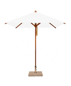 Levante Parasol 2.1m Natural - Square