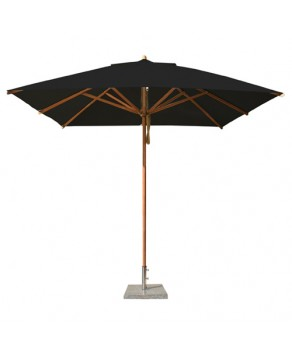 Levante Parasol 2.6m Black - Square
