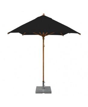 Levante Parasol 2m x 3m Black - Rectangle