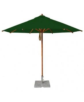Levante Parasol 3.0m Forest Green - Round