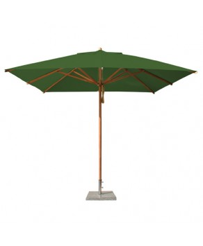 Levante Parasol 3.0m Forest Green - Square