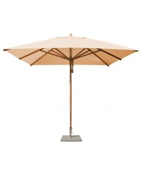 Levante Parasol 3.0m Khaki - Square