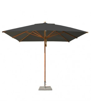 Levante Parasol 3.0m Taupe - Square