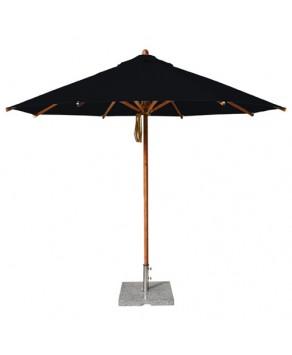Levante Parasol 3.5m Black - Round