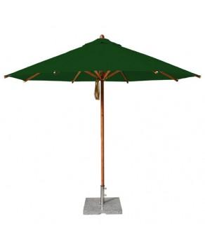 Levante Parasol 3.5m Forest Green - Round