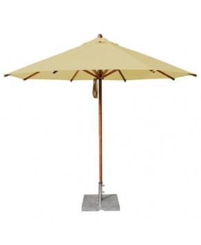 Levante Parasol 3.5m Khaki - round
